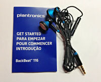 Plantronics Backbeat 116 Headset Headphone with Mic & Remote For iPhone Android