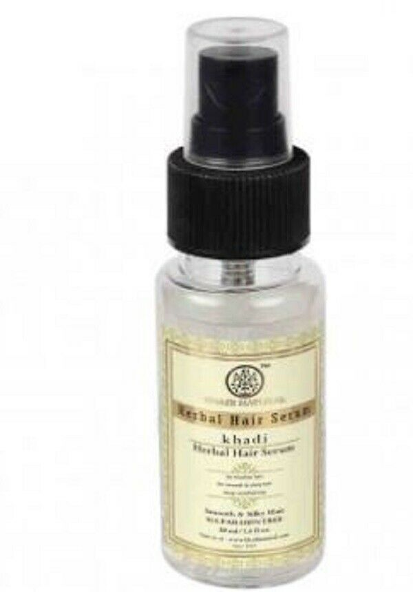 Khadi Herbal Hair Serum 50ml For Nourishing ease tangles,split ends And sheen