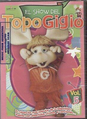 DVD EL SHOW DEL TOPO GIGIO VOL, 5 SEALED NEW IN SPANISH