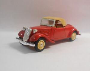 ELIGOR-1-43-escala-Diecast-Modelo-1002-Citroen-TR-Av-Cabrio-1938-Capote