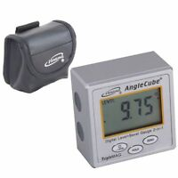 Igaging Angle Cube Digital Magnetic Protractor Gauge Level Table Saw W/case on sale