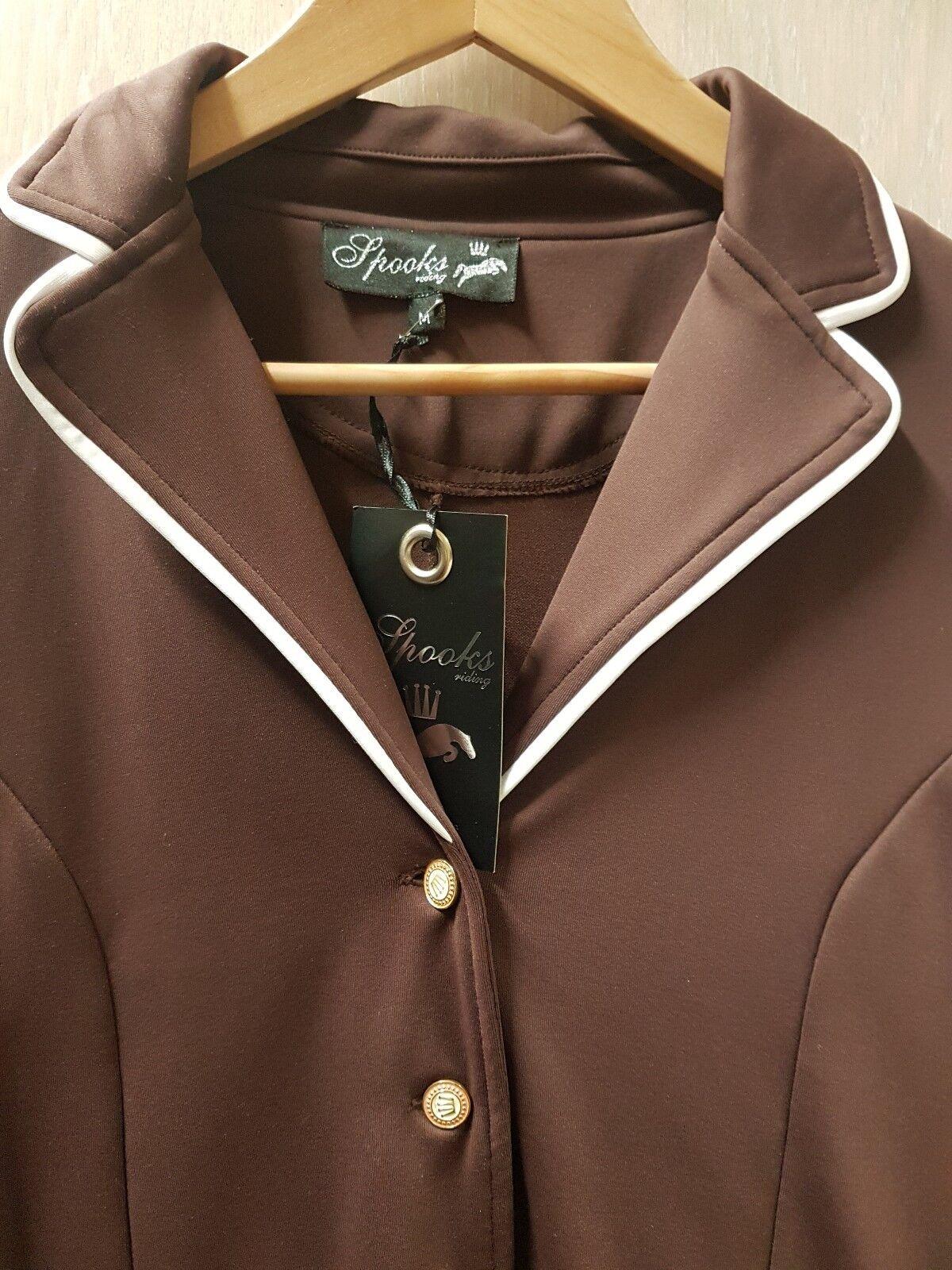 Despectivos showjacket m marrón marrón torneo chaqueta de tu chaqueta turnierjacket marrón torneo