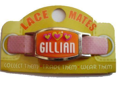 Personalizzato con nome BOY GIRL PIZZO Mates per i lacci Gioielli Braccialetti