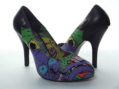 DEMONIA Zombie 03 Multi-Color High Heels Pumps Womens SHOES Sz 8