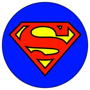 Superman Cake Topper Uk