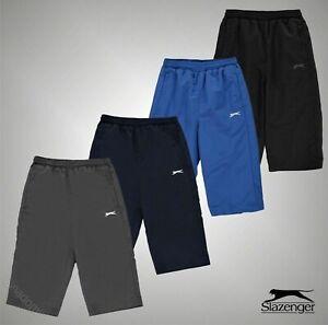 Junior-Boys-marque-SLAZENGER-Maille-Double-3-4-Track-Pants-Pantalon-Taille-7-13-Ans