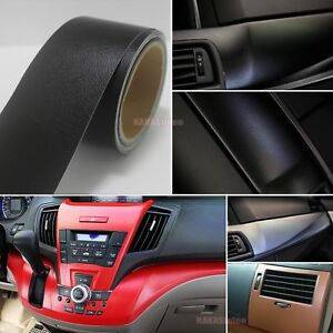 Bubbles-Free-Matte-Car-Interior-Leather-Grain-Texture-Film-Vinyl-Wrap-Sticker-AB