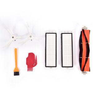 2 Side Brushes 2 Filters Für Xiaomi Mi Robot Vacuum Staubsauger Main Brush