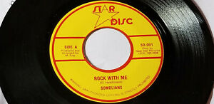 ULTRA-RARE-THE-SOMOLIANS-ROCK-WITH-ME-Killer-Roots-REGGAE-45-034-STAR-DISC-ORIG