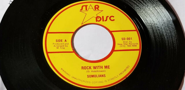 ULTRA RARE /THE SOMOLIANS -ROCK WITH ME Killer Roots/REGGAE 45
