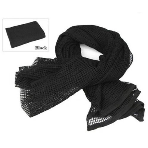 190x90cm Outdoor Hiking Military Scarve Mesh Scarf Sniper Face Veil