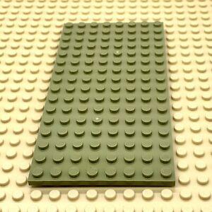 GENUINE LEGO FRIENDS PLATE 8 X 16 LIGHT GRREN X 2 92438 BASE PLATE BOARD