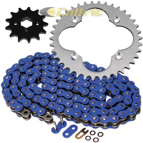 Blue O-Ring Drive Chain /& Sprockets Kit Fits HONDA TRX250R FourTrax 250 1988 89