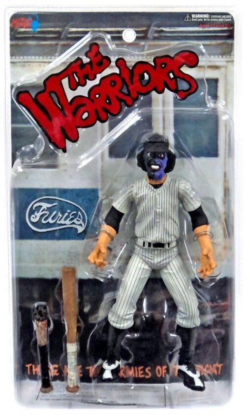 Les guerriers Violet & Noir Face Baseball Fury figurine