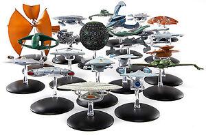 Star-Trek-Raumschiff-Modelle-Metall-TOS-TNG-Voyager-DS9-Enterprise-Movies-lose