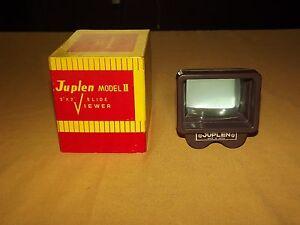 VINTAGE-FILM-PICTURES-JUPLEN-MODEL-II-2-034-X-2-034-SLIDE-VIEWER-IN-BOX