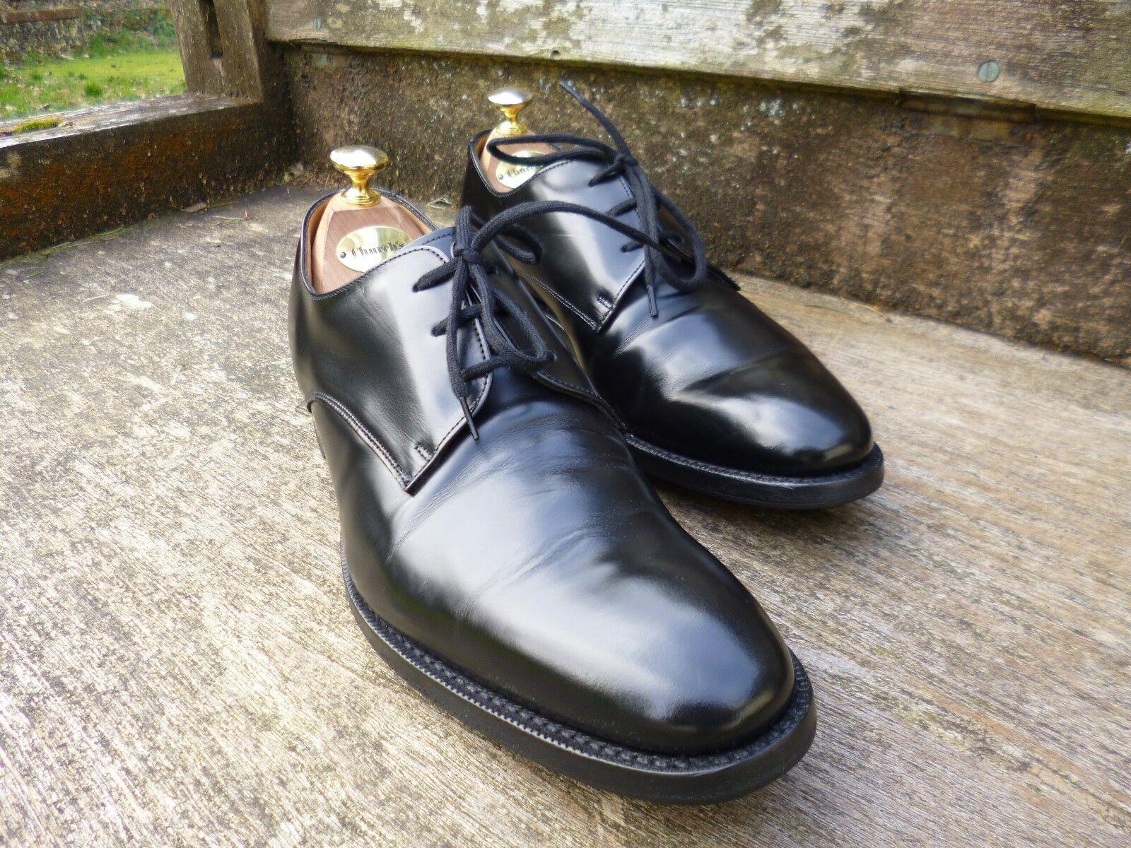 Iglesia Derby Zapatos – Negro – UK 7 – París-Excelente Estado