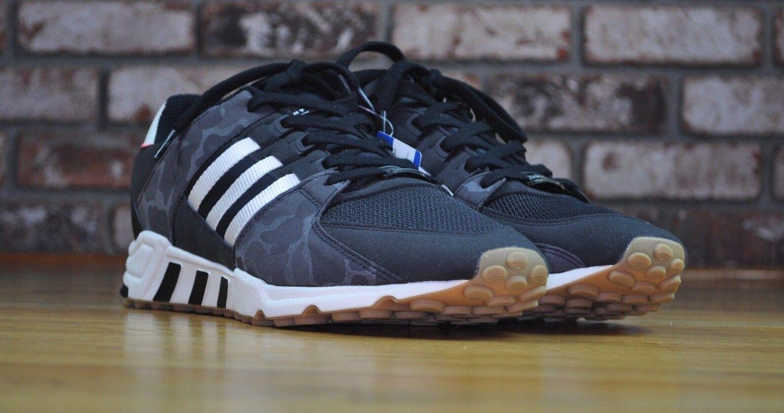 Adidas EQT Support RF Equipment Core Black Gum Camo Mens BB1324 Size 13