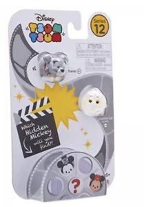 Disney Tsum Tsum Series 12 Vinyl 3 Pack Tramp, Cheshire Cat And Surprise Mickey