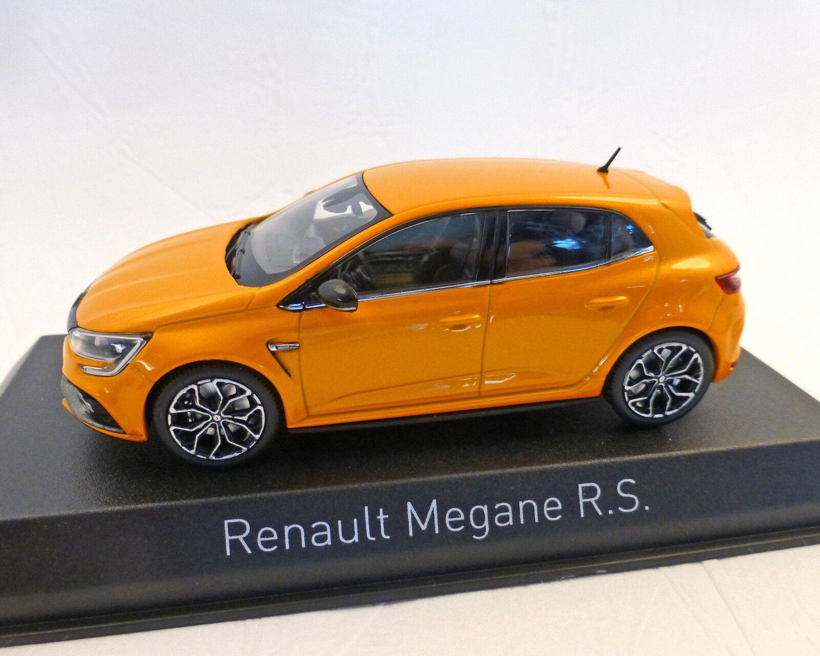 RENAULT MEGANE R.S. Orange 2017, NOREV 1 43