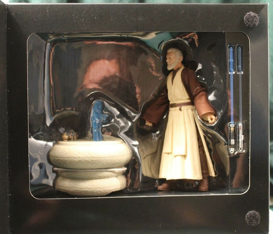 "Star Wars 6"" figurer Obi-Wan Kenobi SDCC 2016, Hasbro Black"