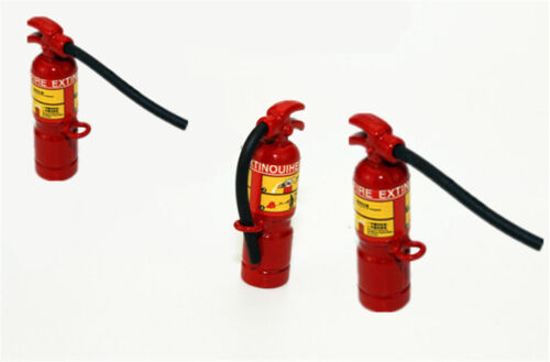 1:12 Scale Red Fire Extinguisher Dolls House Miniature Accessories JG