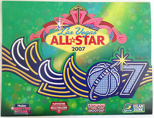 07 nba all star dunk contest las vegas game used score card michael