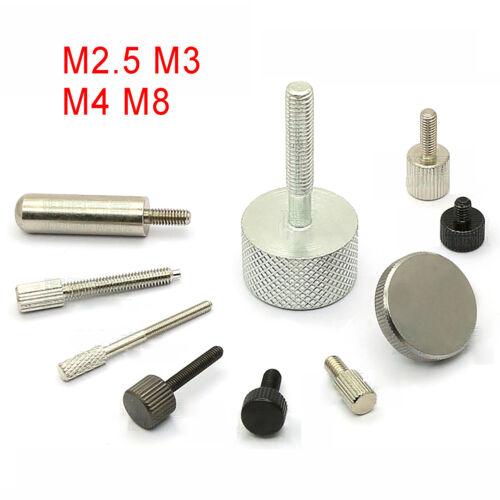 M2.5 M3 M4 M8 zylindrischer Kopf Rändelschrauben Rändelschraube Handschraube