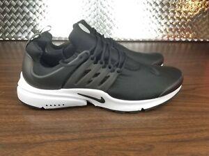 sale retailer 9d365 2c9d4 Image is loading Nike-Air-Presto-Essential-Black-White-Mens-Running-