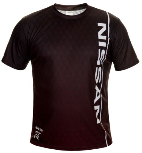 Nissan GTR Noir Cool voiture sport automobile Imprimer manches courtes T-Shirt Cadeau