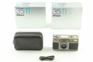[Almost MINT Box] Nikon 35Ti 35mm Point & Shoot Compact Film Camera From JAPAN