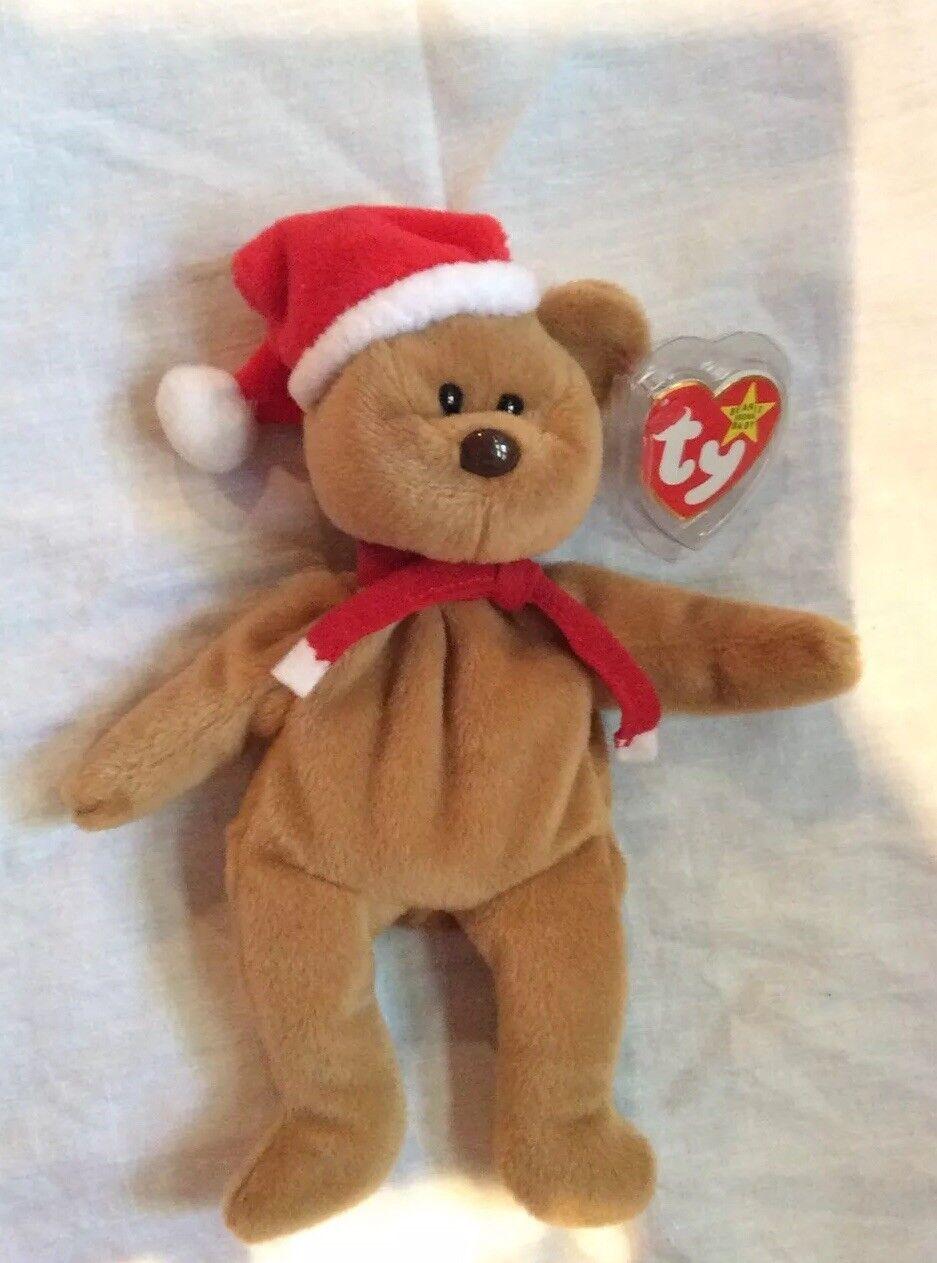 Ty - mütze, 1997 urlaub teddy (1996) - stil   4200 - viele fehler, weihnachten