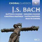 """J.S. Bach: Matth""""us-Passion; Johannes-Passion; Christmas Oratorio; Easter Oratorio; Mass in B minor (CD, Aug-2012, Brilliant Classics)"""