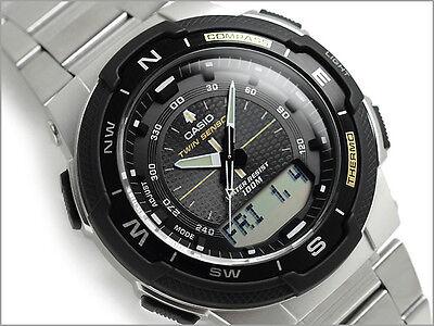 CASIO SGW500HD SGW-500HD-1B Twin Sensor Compass Thermometer Free Ship @