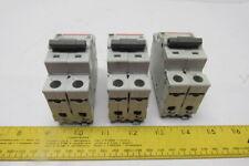 Cutler Hammer EGS1020FFB Lot of 3 Single Pole 125VDC