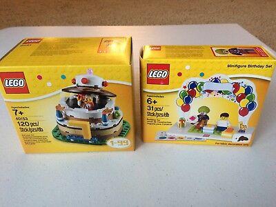 Terrific Lego Set 850791 Minifigure Birthday Set Cake Topper New In Box Funny Birthday Cards Online Elaedamsfinfo