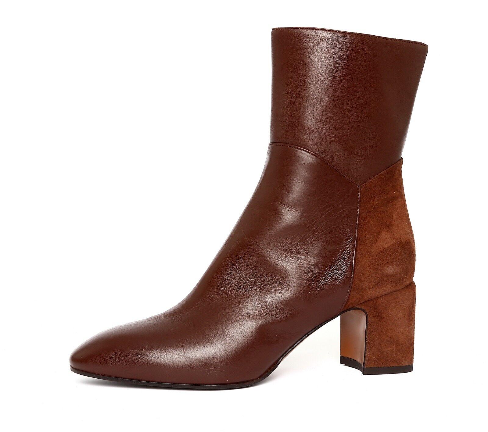 comprare sconti Aquatalia Donna  Marrone Leather Suede Suede Suede Side Zipper Ankle avvio Sz 10 4513   trova il tuo preferito qui