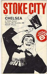 Stoke City v Chelsea 196667 division 1 - <span itemprop=availableAtOrFrom>Letchworth, United Kingdom</span> - Stoke City v Chelsea 196667 division 1 - Letchworth, United Kingdom