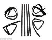 8-piece Window Channel & Belt Weatherstrip Kit / For 1972-79 Dodge Ram Truck