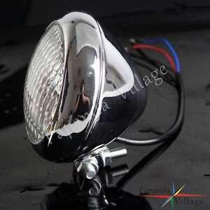 Retro-Motorcycle-Head-Light-Lamp-Headlight-For-Vintage-Harley-Bobber-Cafe-Racer