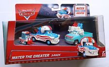 Disney Pixar Cars MATER THE GREATER 3-PACK Rare Over 100 Cars UK !!
