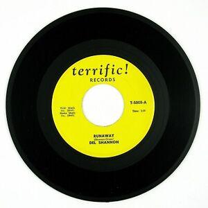 DEL-SHANNON-Runaway-Hey-Little-Girl-7IN-1971-ROCK-039-N-ROLL-NM