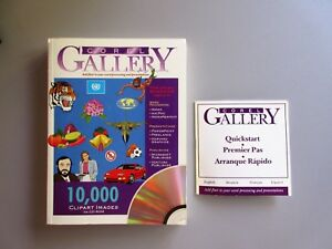 COREL-Gallery-Clipart-10-000-Images-Reference-Manual-IBM-Compatible
