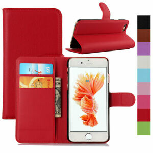 For-Apple-iPhone-X-8-7-6S-Plus-Folding-Leather-Kickstand-Card-Wallet-Case-Cover