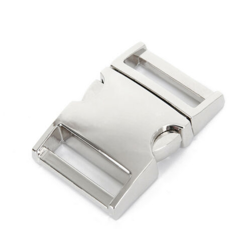 1x 10-25mm Metall Steckschnalle Klickverschluss Steckverschluss Schnalle Outdoor