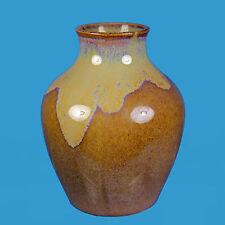 Bürgeler Kunstkeramische Werkstätte um 1919 Vase mit Laufglasur ?H.van de Velde?