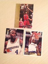 chris Webber NBA Basketball trading cards inc inserts