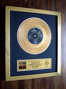 THE-BEATLES-YESTERDAY-24KT-GOLD-DISC-7-034-SINGLE-RECORD-AWARD