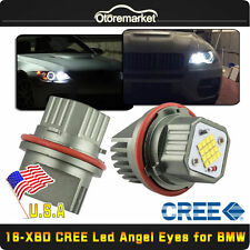 XBD CREE Total 160W Total BMW 16-LED Angel Eyes Bulbs For E39 E60 E63 E64 E53 US