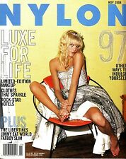 Nylon Magazine November 2004 The Libertines Jimmy Eat World Fatboy Slim